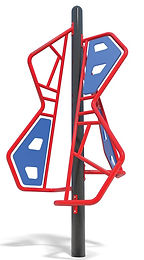 Modern Playground Cubist Climber #3