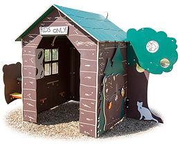 Playground Junior Log Cabin