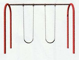 Playground Arch Swing Set - 8 Foot
