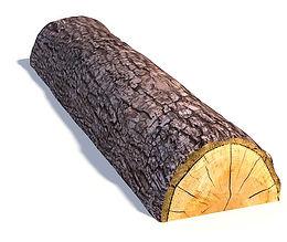 Split Log Nature Playground Beam