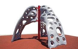 3 Way Lava Rock Playground Climber