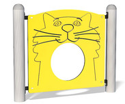 Kitty Crawl Through Panel