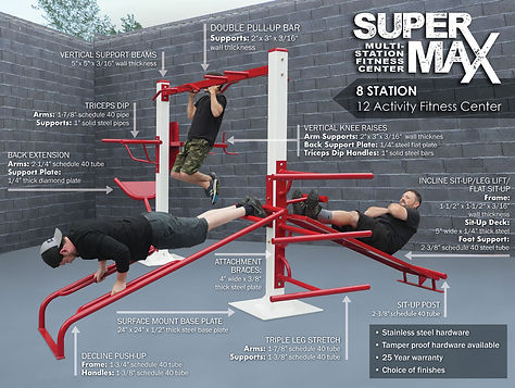 StayFIT  SuperMAX 8 Fitness System