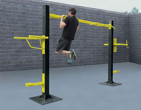 StayFIT  SuperMAX Pull-Up, Knee Raise, Triceps Dip Station