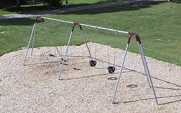 Standard 2 Bay 8ft Playground Swing Set