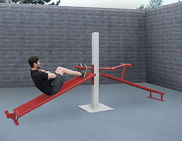 StayFIT  SuperMAX Crunch Sit-Up and Decline Sit-Up Station