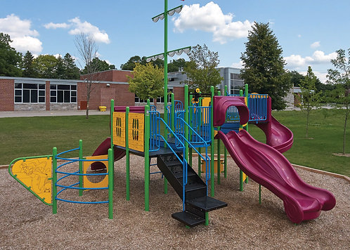 PlaySteel FIT Playground Structure - Model B306617