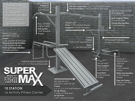 StayFIT  SuperMAX 10 Fitness System