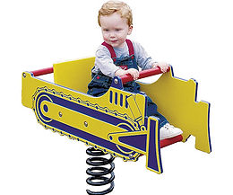 Bulldozer Playground Motion Toy