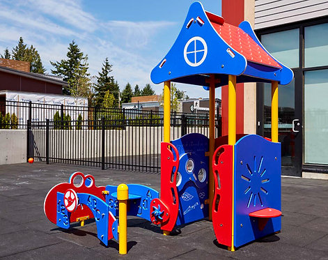 PlayTots Playground Structure - Model PT20157