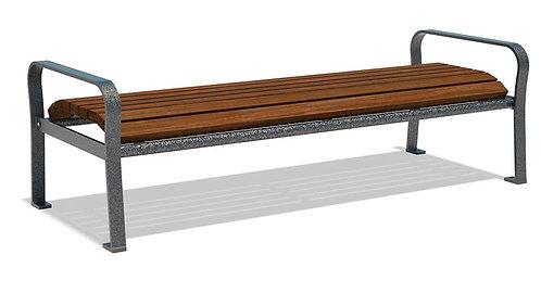 Vista Superior Series Backless Wood Bench