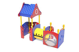 PlayTots Playground Structure - Model PT20004