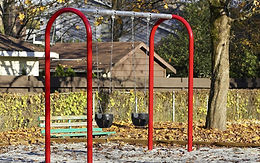 Single Bay 8ft Arch Swing Set