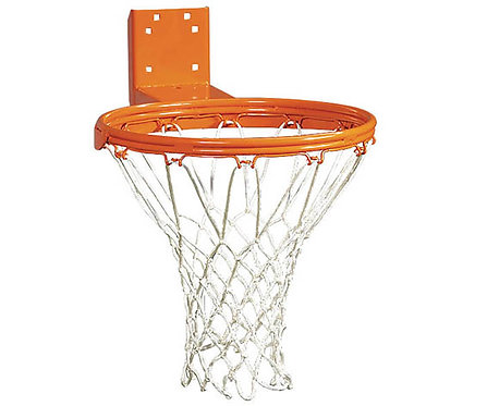 Commercial Basketball Hoop with Nylon Net