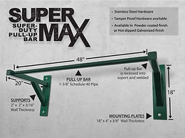 StayFIT  SuperMAX Super Duty Pull Up Bar