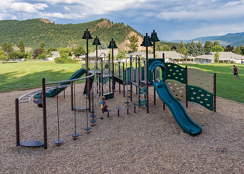 PlaySteel FIT Playground Structure - Model B306613