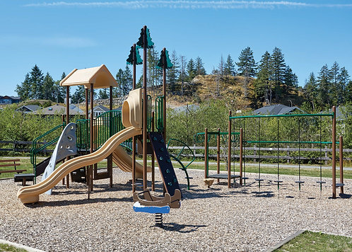 PlaySteel FIT Playground Structure - Model B306618