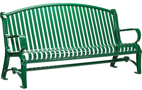 Vista Huron Series Bench - Green, Model HVA6