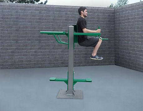 StayFIT  SuperMAX Vertical Knee Raise, Triceps Dip Station