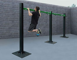 StayFIT  SuperMAX Four Person Pull-Up Station