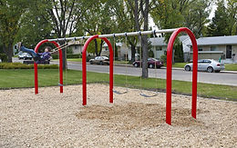 2 Bay 8 foot Playground Arch Swing Set