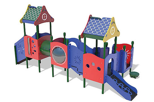 PlayTots Playground Structure - Model PT20106