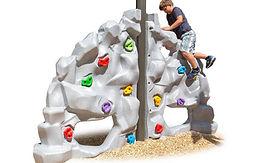 Double Ridge Playground Rock Climber