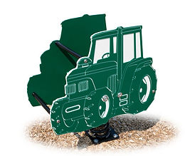 Tractor Playground Motion Toy