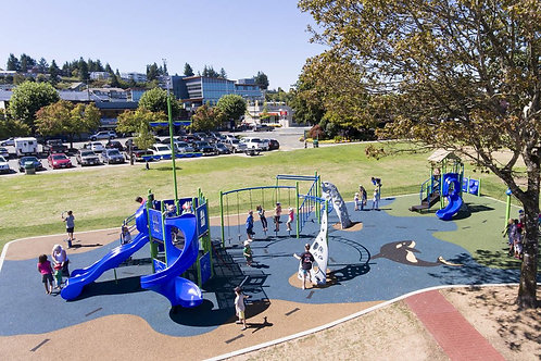 PlaySteel FIT Playground Structure - Model B305257