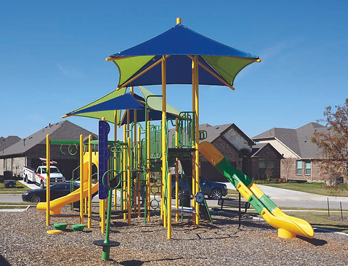 Mighty Shades Playground Structure - Model B306610