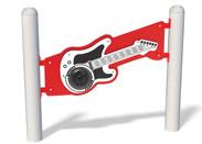 Musical Guitar Panel