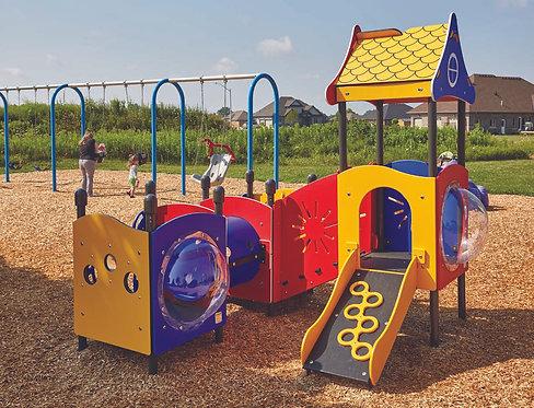 PlayTots Playground Structure - Model PT20158