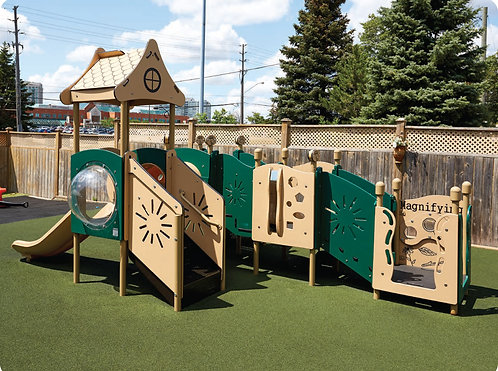PlayTots Playground Structure - Model PT20156
