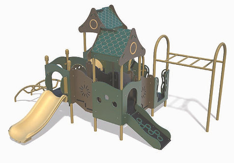 PlayTots Playground Structure - Model PT20003