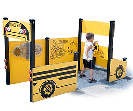 Playground Accessible School Bus
