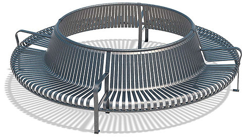 Vista Superior Series Circular Bench