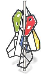Modern Playground Cubist Climber #4