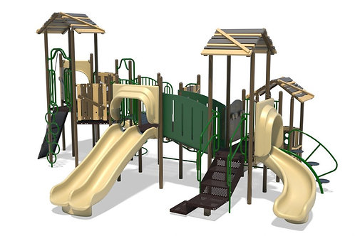 PlaySteel FIT Playground Structure - Model B304298