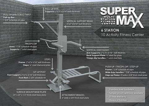 StayFIT  SuperMAX 6 Fitness System