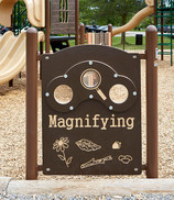 Magnifying Glass Panel