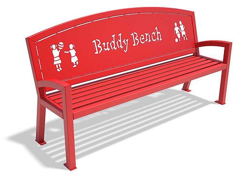 Moraine Buddy Bench - Model MHLAT6-HOR-BB