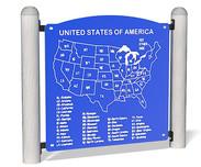USA Map Panel