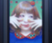 21不思議な夜の夢 668×243㎜ 2019年 額装.JPG