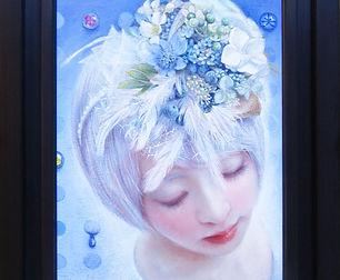 15A water fairy 334×243㎜ 2019年 額装.JPG