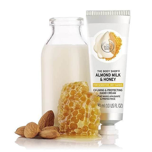 Almond milk and honey hand cream
