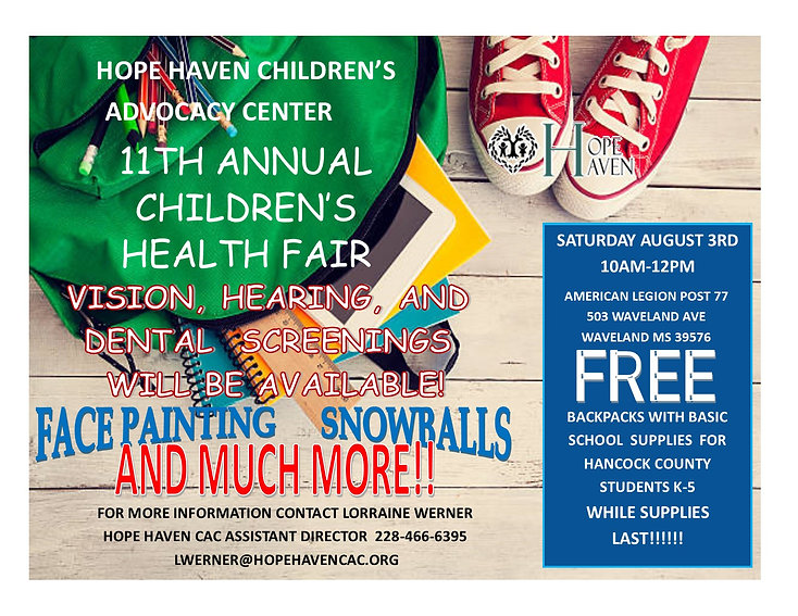 11TH ANNUAL CHILDREN Health fair.jpg