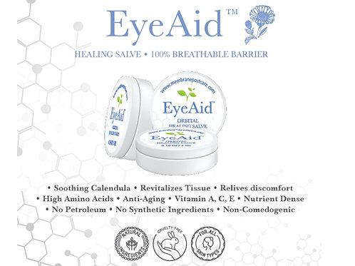 (10 Pack) EyeAid - (3ml Button Jars)