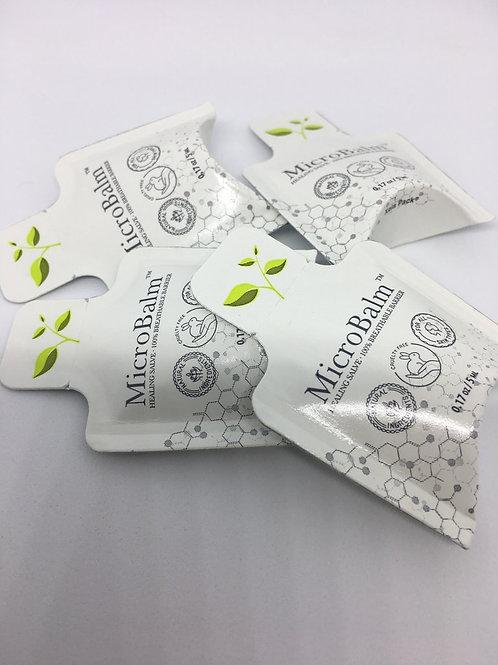 (10 Pack) MicroBalm Pillow Packs - (5ml each) - Sampler Pack
