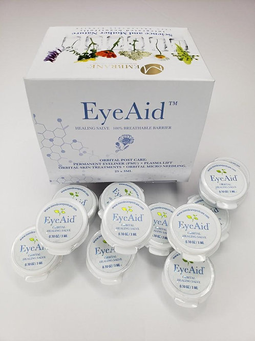 (25 Pack) EyeAid Box - (3ml Button Jars)