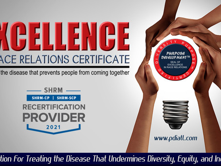 Excellence in Race Relations Certificate
